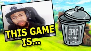 "Fortnite's Worst ""THIS GAME'S TRASH"" Moments of All Time! #2"
