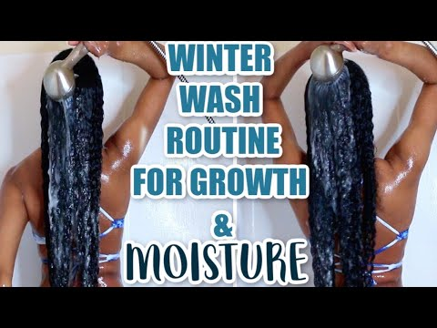 Winter Wash Routine (How I Keep My Hair MOISTURIZED for Winter & ALOE VERA PREPOO FOR HAIR GROWTH)