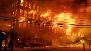 P-4 ** Inferno** Marcal Paper Factory W/ Explosions Brutal 6° Temps Elmwood Park NJ 1-30-19