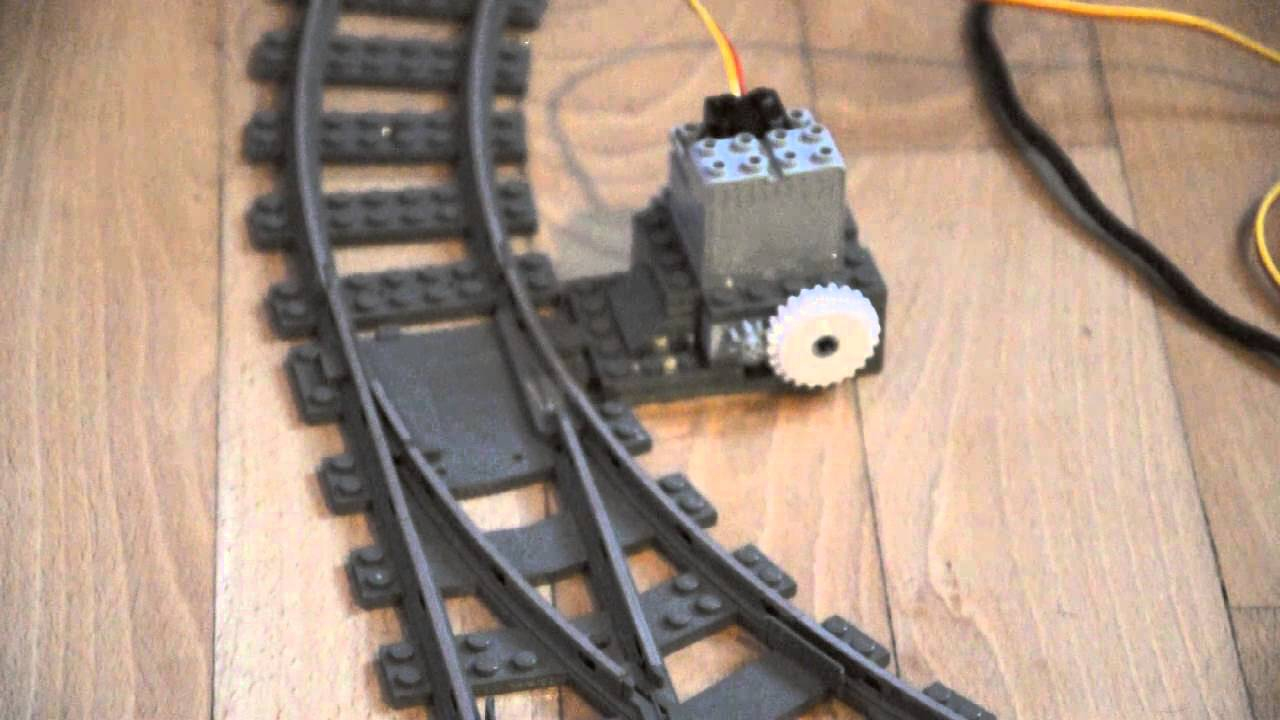 Arduino For Lego Trains 3 Motorized Track Switches Youtube