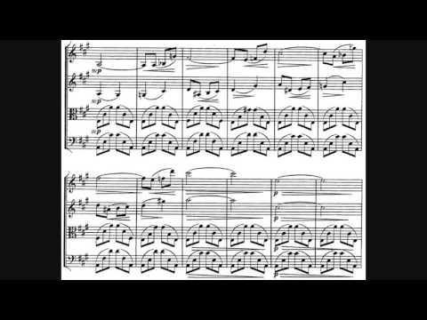 Alexander Borodin  String Quartet No 1