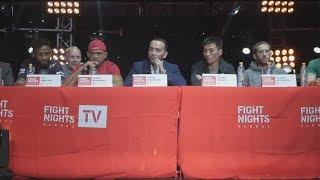 Пресс-конференция FIGHT NIGHTS GLOBAL 67. Итоги турнира