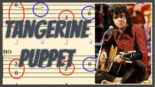 Tangerine Puppet Guitar Lesson (Fingerpicking)