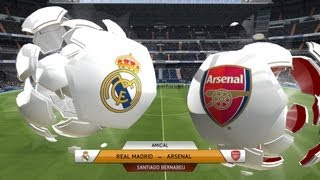 PC Fifa 14 Real Madrid Arsenal Online Modric 30m Goal