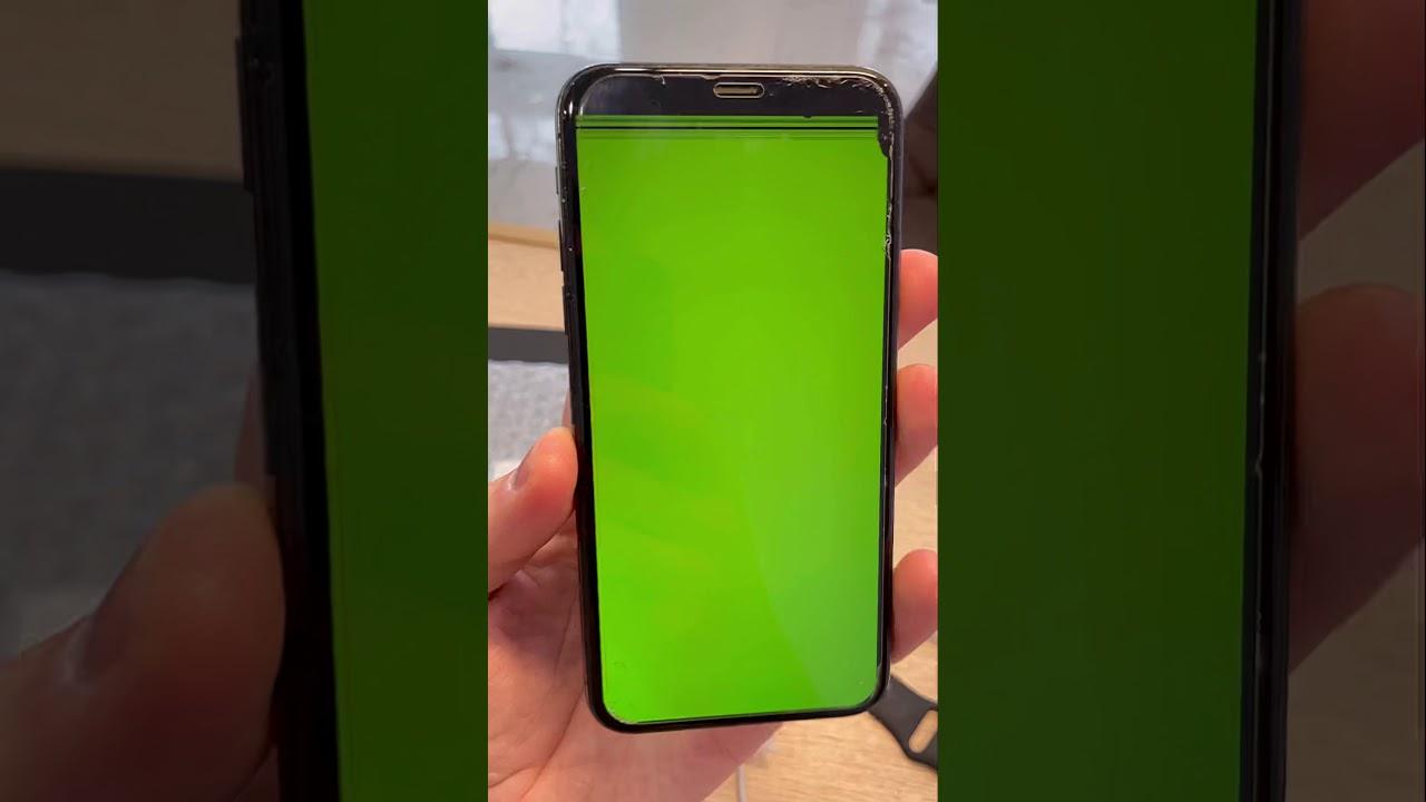 Замена экрана iPhone 10 Тюмень