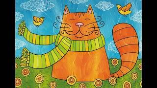 Как вычесать кота-пушистика? Уход за котом. How to brush a cat.