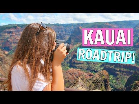 ROMANTIC ROAD TRIP AROUND KAUAI    HONEYMOON IN HAWAII