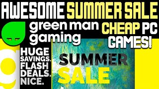 [SPONSORED VIDEO] Awesome PC Games Summer Sale at GMG - CHEAP PC Games!
