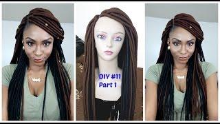 DIY #11: Faux locs wig (Yarn). Part 1
