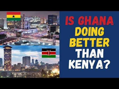 Ghana VS Kenya|| Is Ghana's economy doing better than Kenya in 2021? Key economic indicators!
