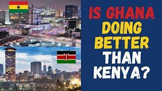 Ghana VS Kenya Is Ghana39s economy doing better than Kenya in 2021 Key economic indicators