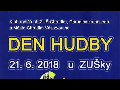 Den HUDBY v Chrudimi už 21.6.2018