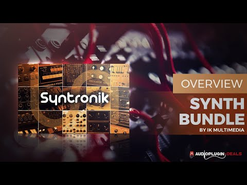 Checking Out the Legendary Syntronik by IK Multimedia!