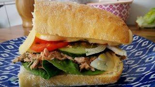 סנדוויץ׳  עם טונה. המתכון האולטימטיבי מאלף עד תיו עם מקס מלכיאל Tuna Sandwich