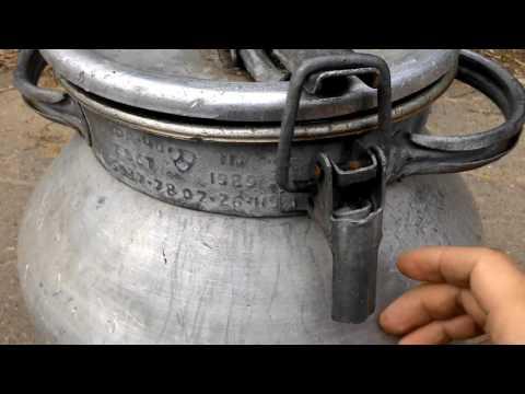 Бидон для молока,СССР