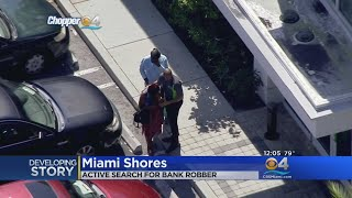 Shots Fired During Miami Shores Bank Robbery