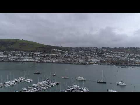 Kingswear, Dartmouth and the River Dart by Drone 21st November 2017