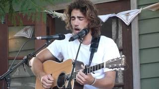 Matt Corby- Winter/My False Live @ Wollongong Secret Garden 29.1.12