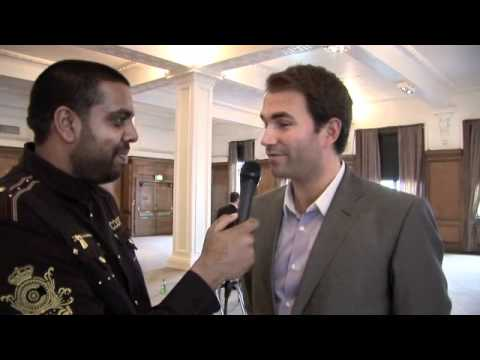 Eddie Hearn Interview for iFILM LONDON.