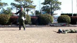 陸上自衛隊の匍匐前進は実は第1〜第5まであるってご存じ?