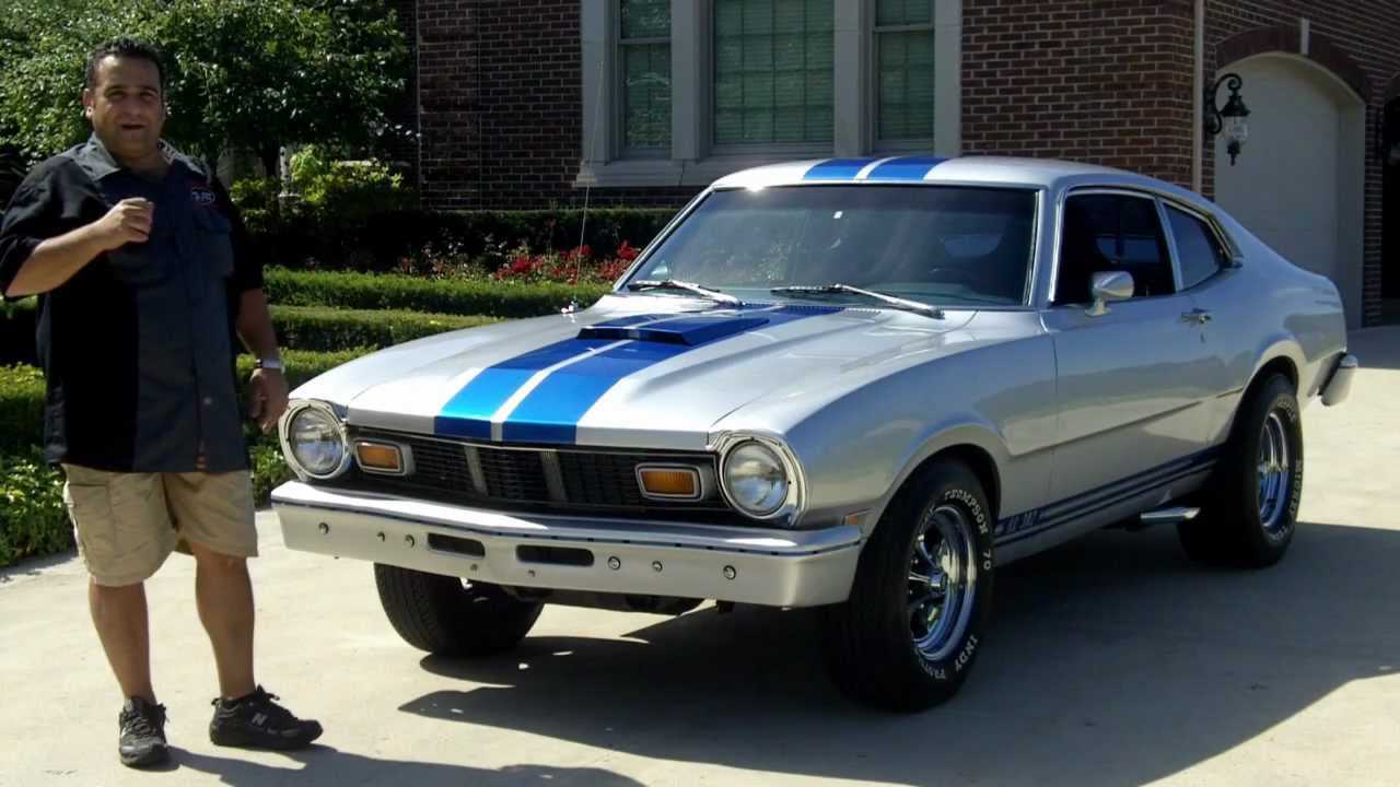 1977 Ford Maverick Classic Car for Sale in MI Vanguard Motor Sales ...