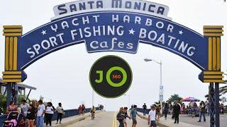 360° 4K Santa Monica Pier - Jordster360°