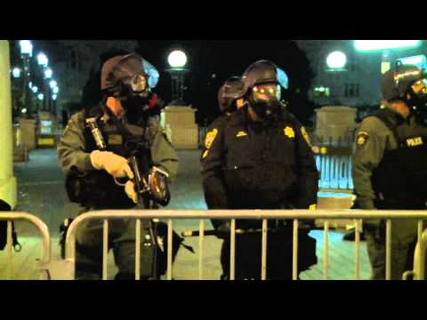 Police Use Force Against Occupy Oakland Demonstrators - October 25, 2011