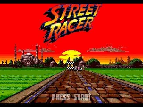 Mega Drive Longplay [178] Street Racer