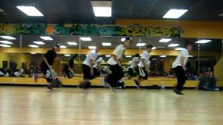 "Keone Madrid ""black and gold"" choreography"