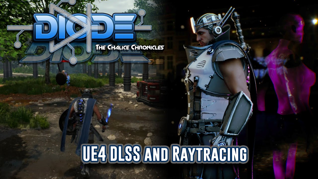 Diode UE4 Trailer DLSS RTX Raytrace