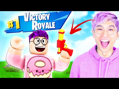 Can We Win ROBLOX FORTNITE!? (INSANE ENDING)