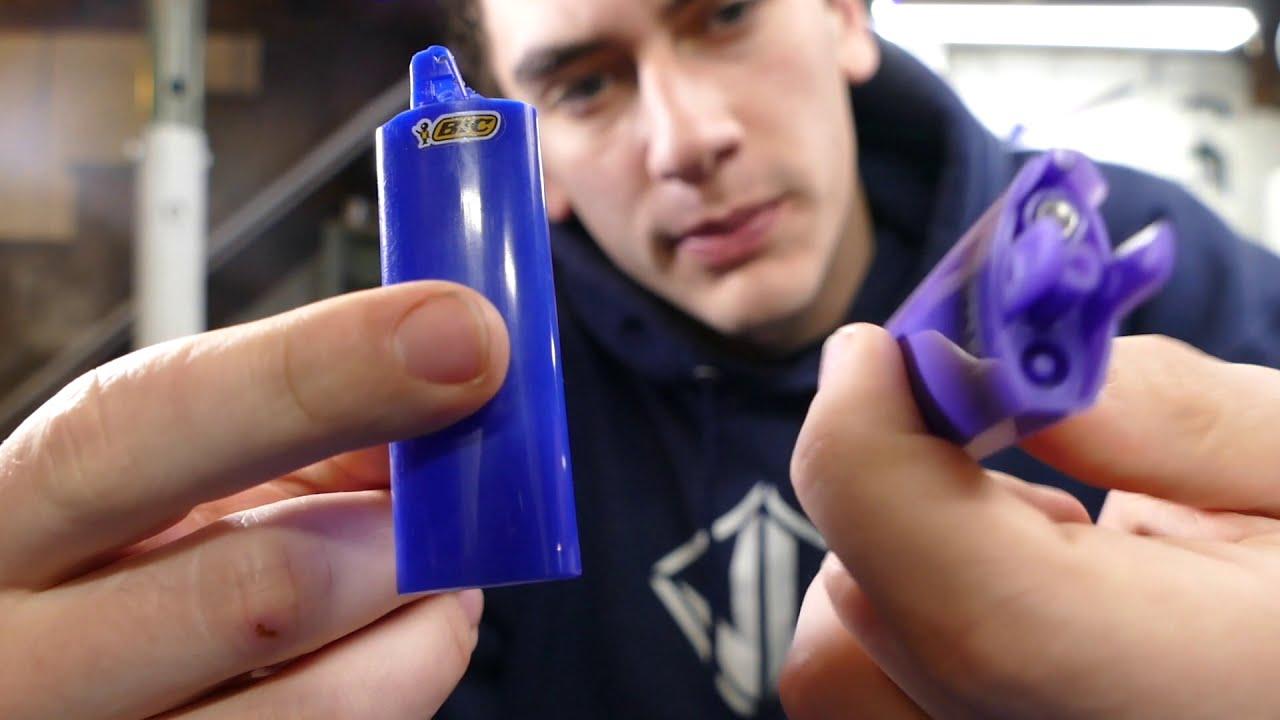 Make A Cheap Laser Lighter! - Awesome Lighter Hack!!! (Burning Laser  Lighter)  Jlaservideo 10:43 HD