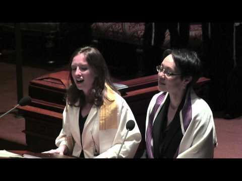 """""""Hatikvah/America The Beautiful"""" Mash Up, Central Synagogue, 6/14/13 - Cantors Buchdahl and Cadrain"""