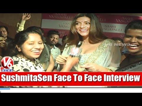 Former Miss Universe Sushmita Sen Face To Face Interview   Navaratri   V6 News