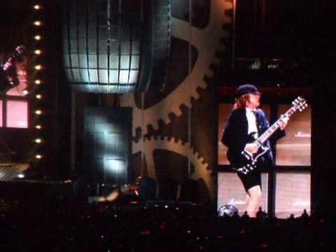 ACDC In Brisbane In The Rain