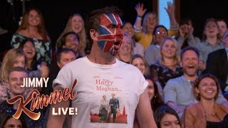 This Dude is Super Excited for the Royal Wedding