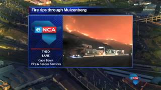 Evacuations, water bombs for Muizenberg blaze