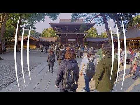 The Meiji Shrine Shibuya, Japan (BINAURAL AUDIO IMMERSION) -  The Sound Traveler