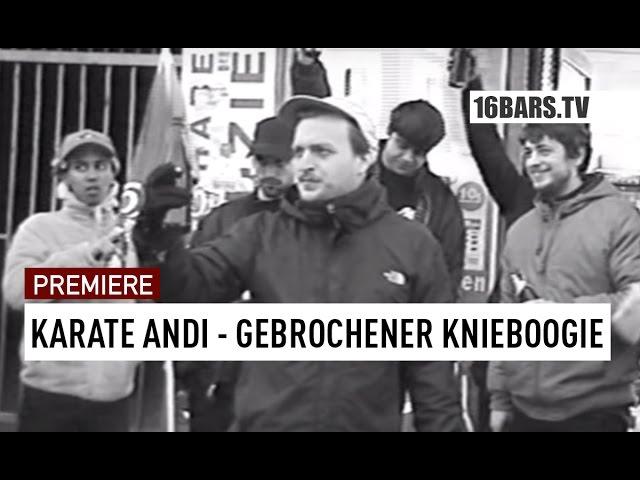 Karate Andi - Gebrochener Knieboogie // prod. by Gibmafuffi (16BARS.TV PREMIERE)
