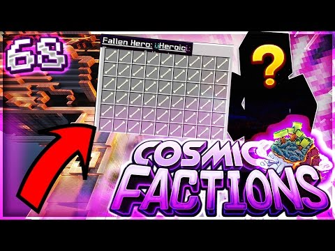 INSANE FALLEN HEROES + FACTION MEMBER! | Minecraft FACTIONS #68 (CosmicPvP)