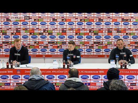 20. Spieltag | FCH - SGD | Pressekonferenz nach dem Spiel
