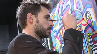 "Le Havre : Alexandre Delaunay, alias ""Mascarade"" graffitiste devenu artiste"
