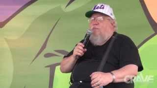Video George R.R. Martin Interview and Cosplay King & Queen crowning (Uncut Full Interview) download MP3, 3GP, MP4, WEBM, AVI, FLV November 2017