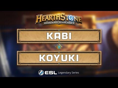 Hearthstone  Kabi vs. Koyuki  ESL Legendary Series Season 2 LAN Finals  Group A Winners Quarter