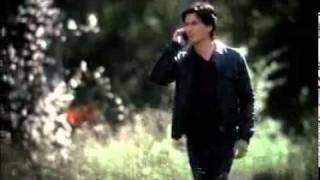 The Vampire Diaries 3x13 Elena calls Damon; Damon and Elijah meet.
