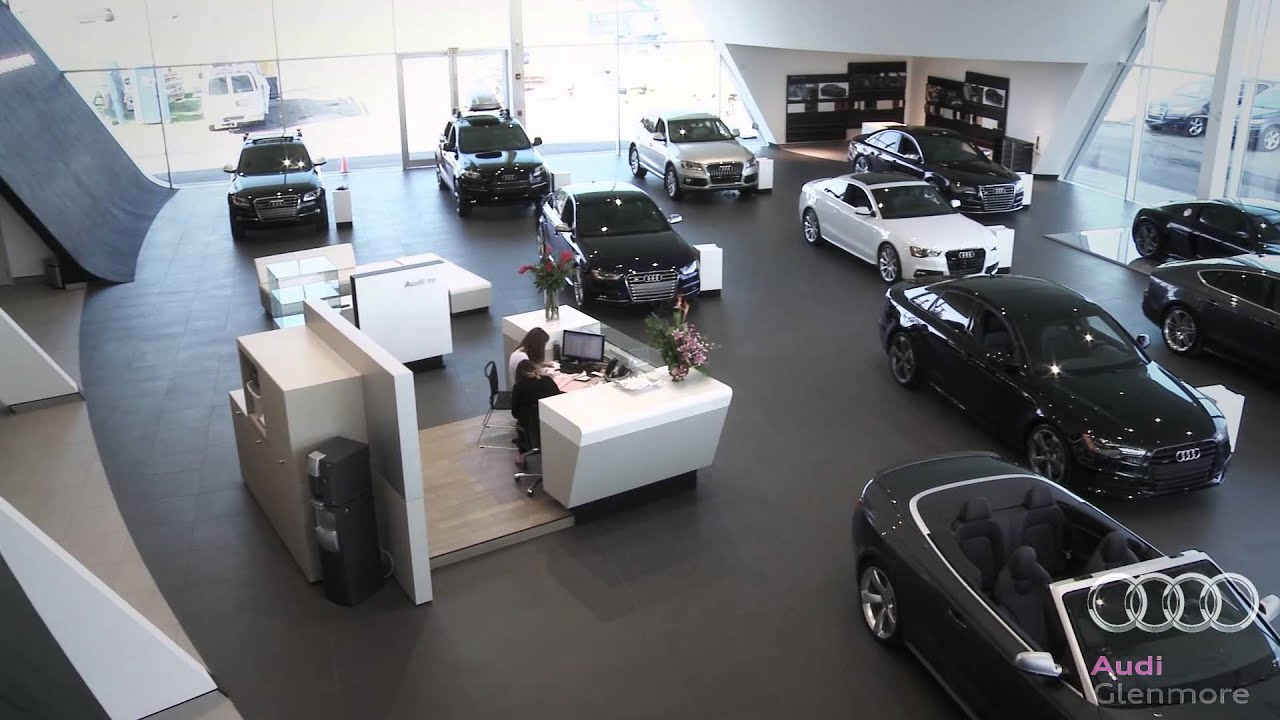 glenmore audi new showroom open fall for audi sales event