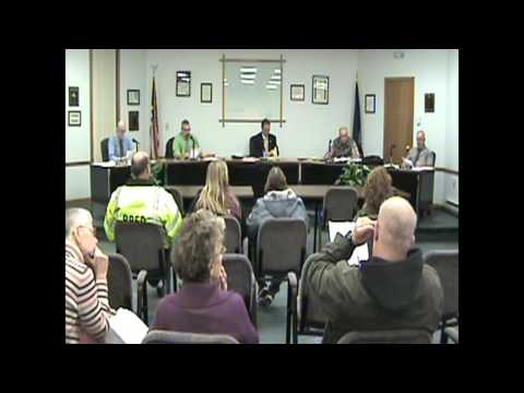 Rouses Point Village Board Meeting  4-4-16