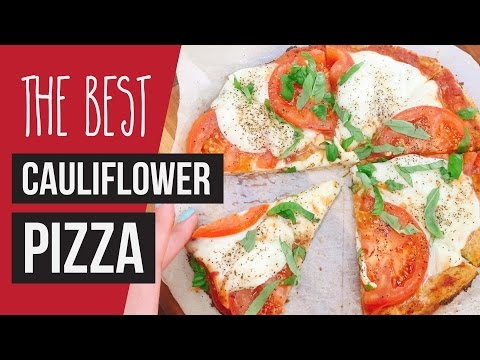 Homemade Pizza: Breadsticks Recipe With Cauliflower Crust