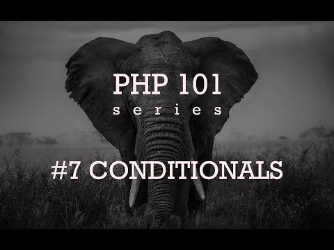 Основы PHP - Условия #7