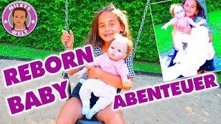 REBORN BABY Spielplatz ABENTEUER - ACTION  mit PUPPENMAMA - Mileys Welt